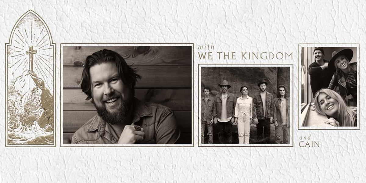 Zach Williams | Rescue Story Tour with We The Kingdom